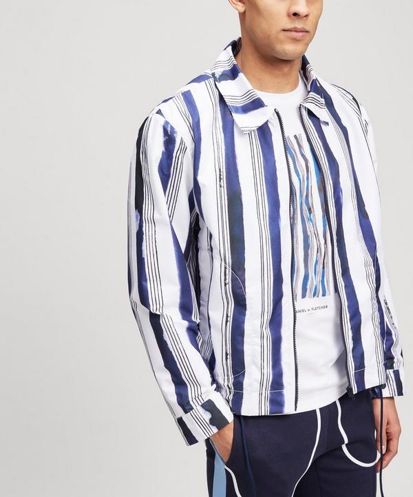 Stripe Waterproof Jacket