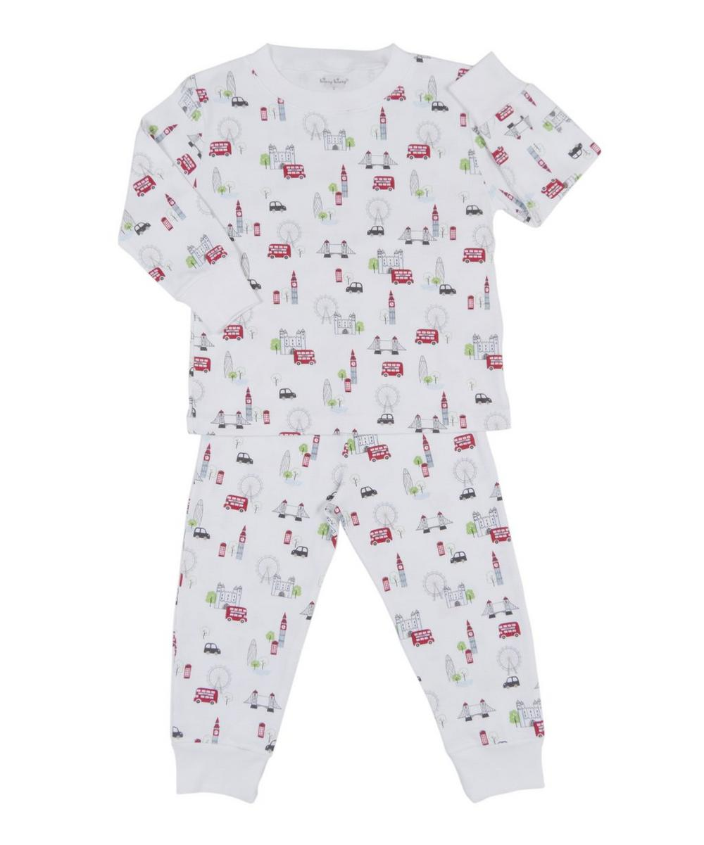 Red Bus Tour Print Pyjamas 18-24 Months