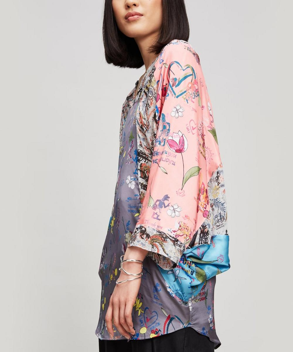 ANGLOMANIA BY VIVIENNE WESTWOOD MUSA DRAPED TOP