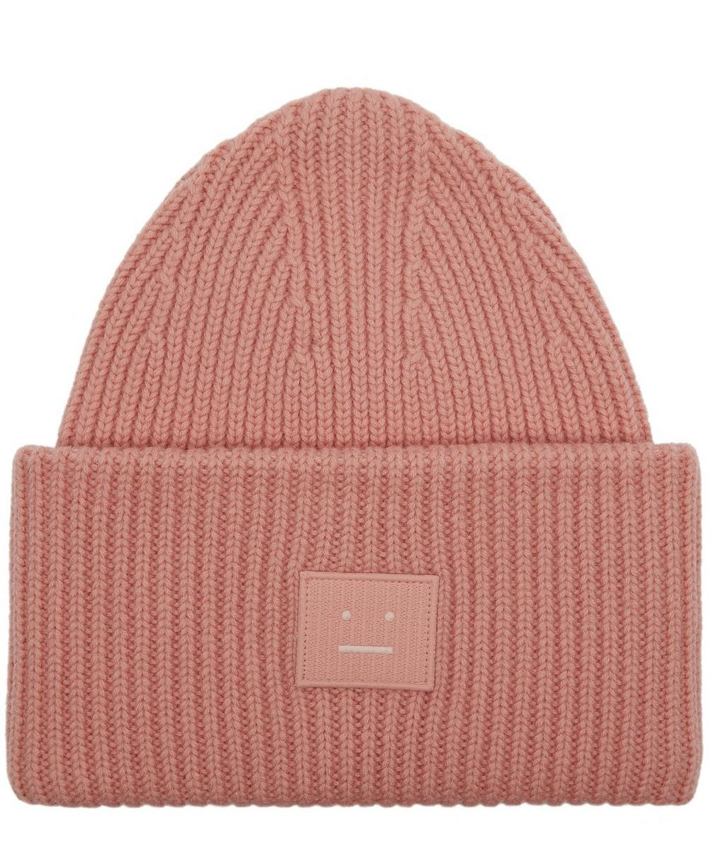 PANSY WOOL BEANIE HAT