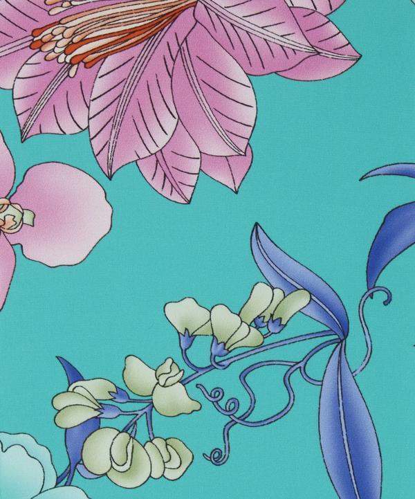 Floral Fil Coupé Silk