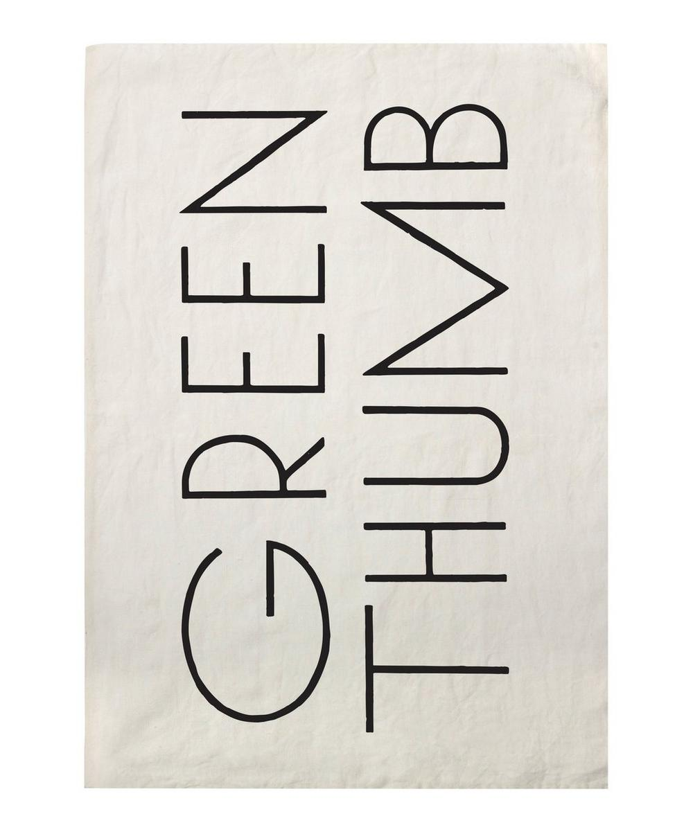 Green Thumb Tea Towel