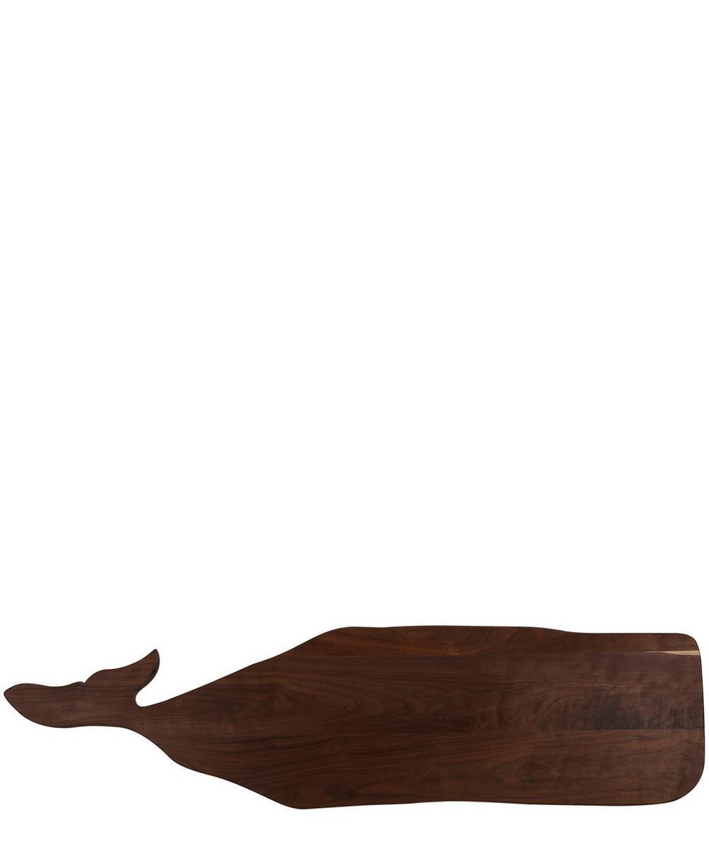 Great Whale Wood Board in Walnut