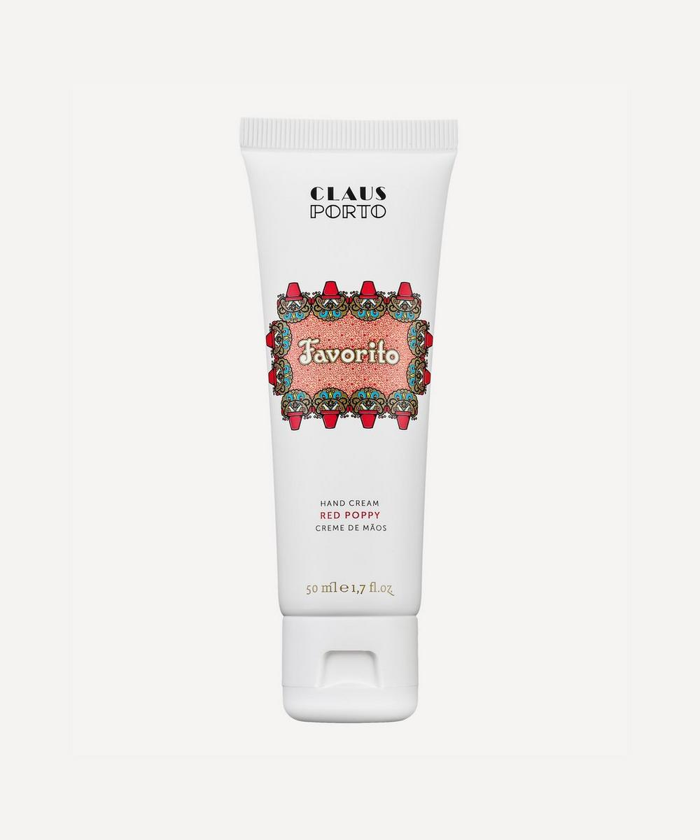 FAVORITO RED POPPY HAND CREAM 50ML