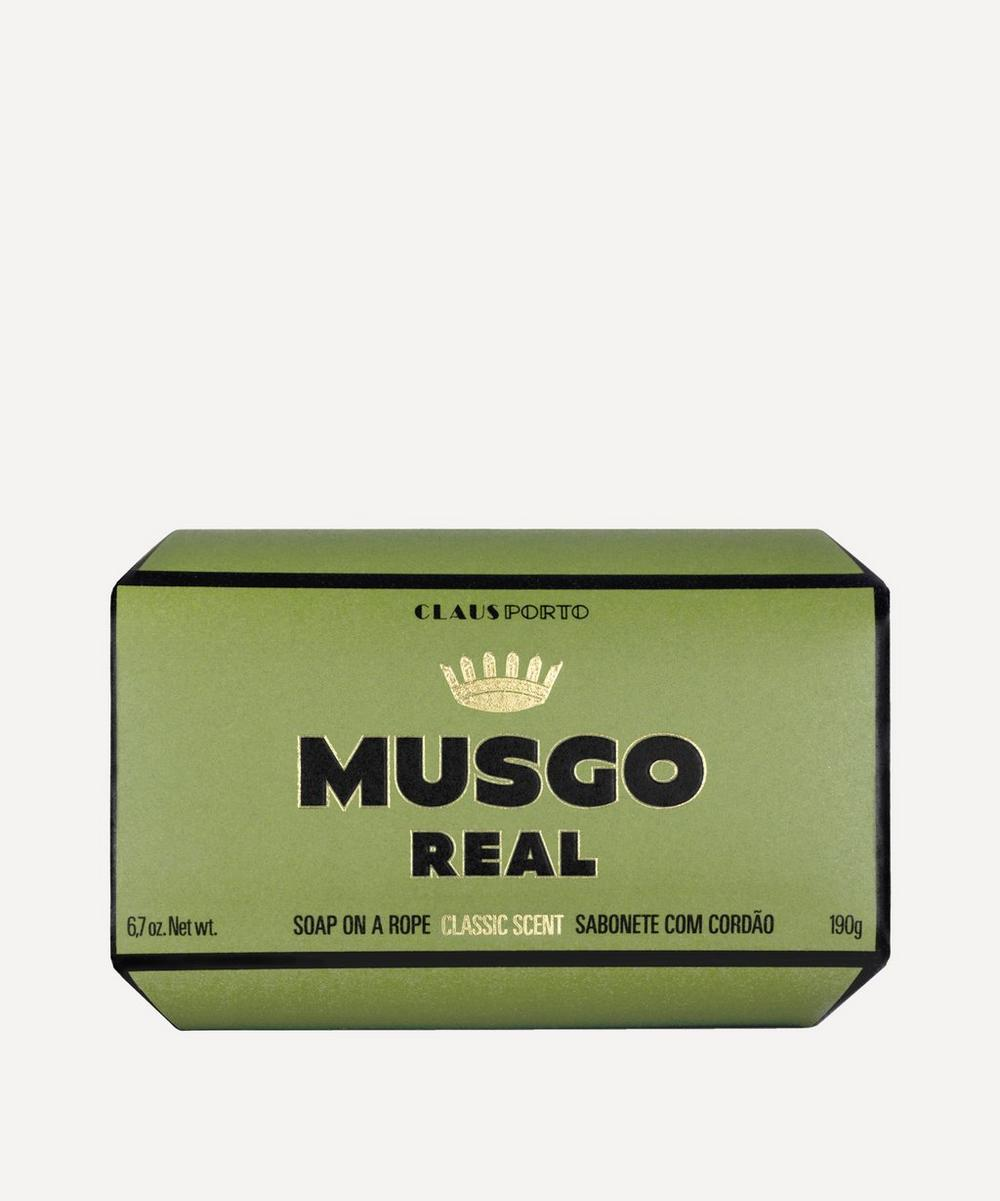 CLAUS PORTO MUSGO REAL CLASSIC SCENT SOAP ON A ROPE 190G