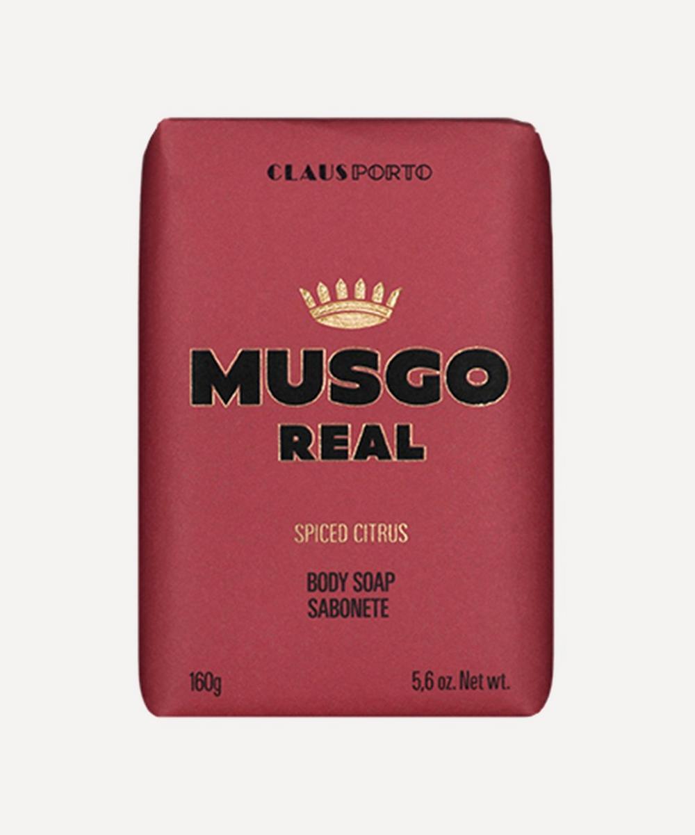 CLAUS PORTO MUSGO REAL SPICED CITRUS BODY SOAP 160G