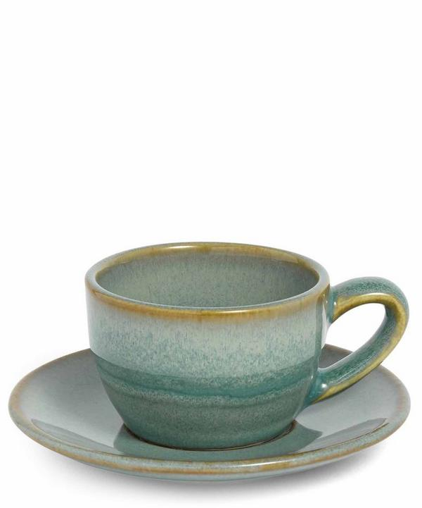 Country House Espresso Cup and Saucer