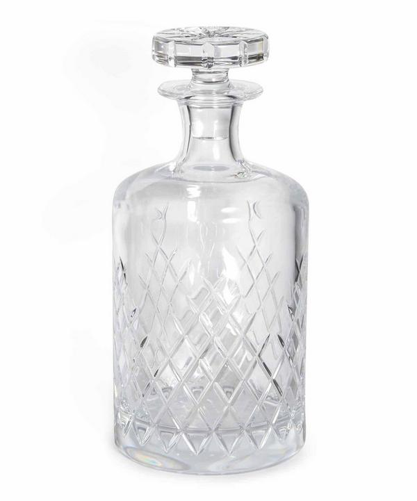 Barwell Cut Crystal Large Decanter