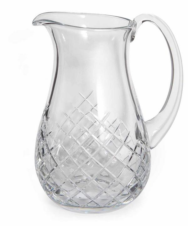 Barwell Cut Crystal Pitcher