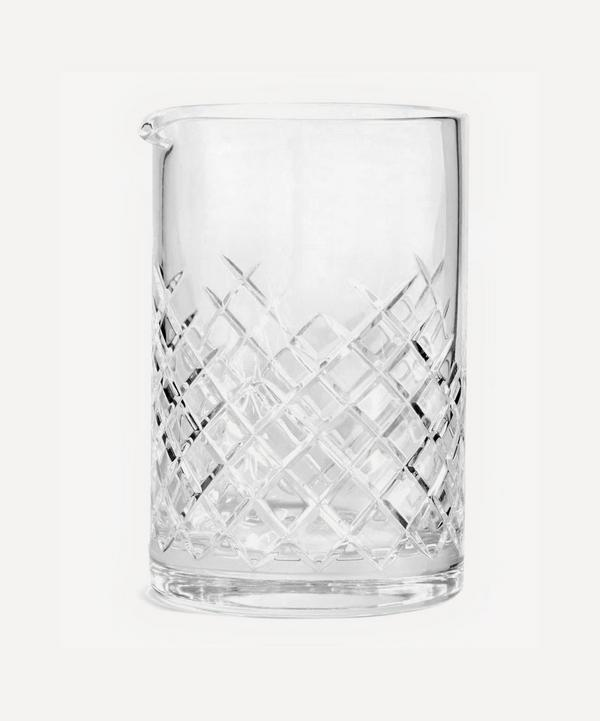 Barwell Cut Crystal Mixing Glass