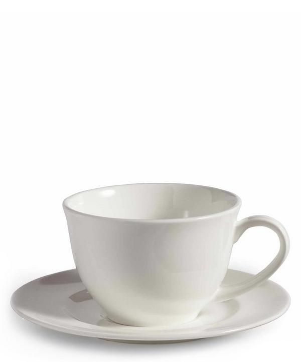 House Espresso Cup and Saucer