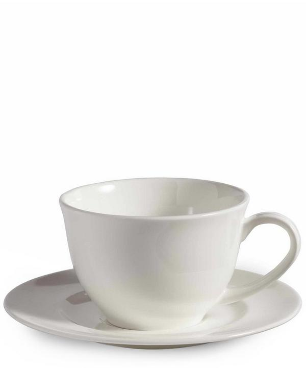 House Teacup and Saucer
