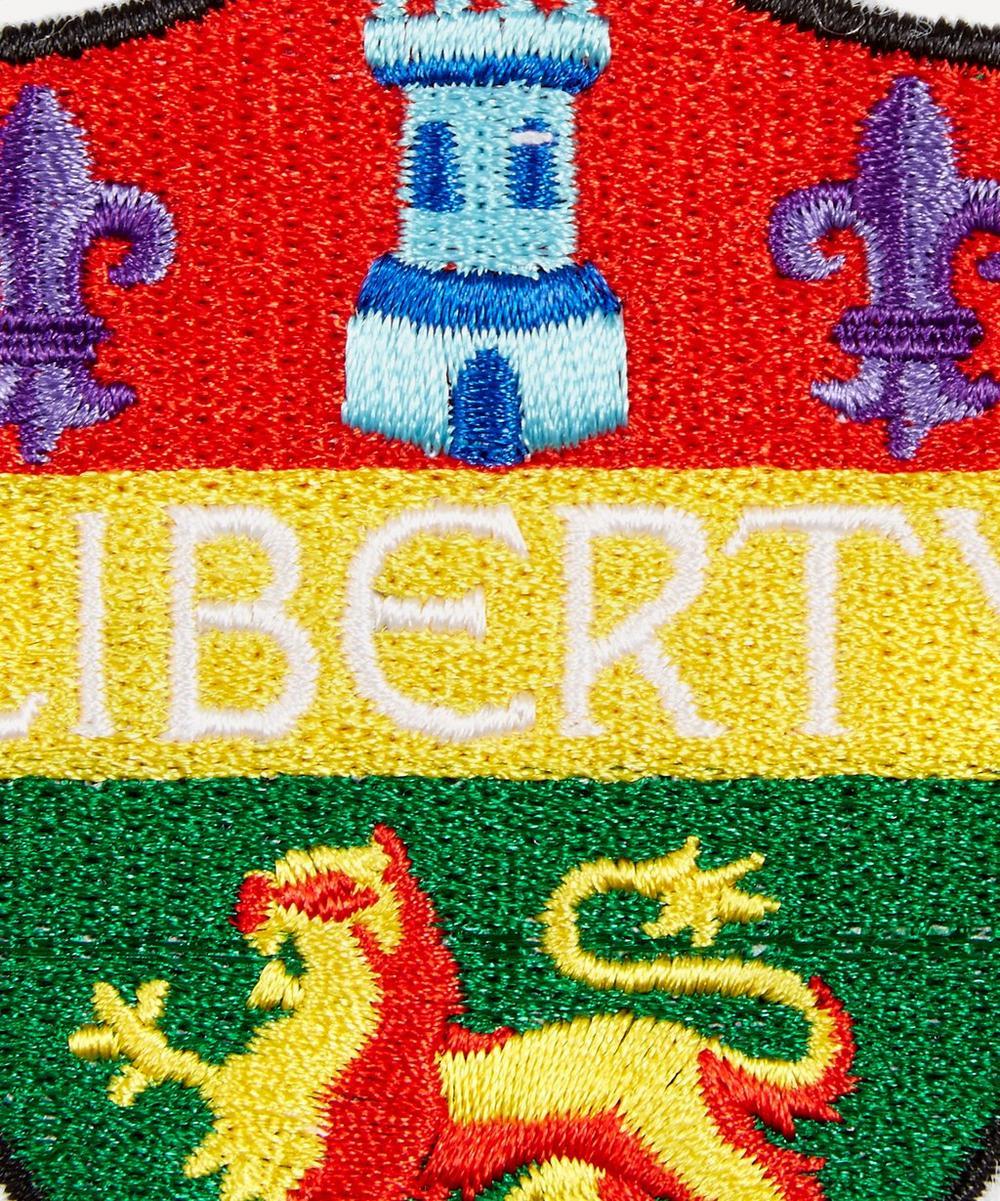 Embroidered Crest Sticker Patch