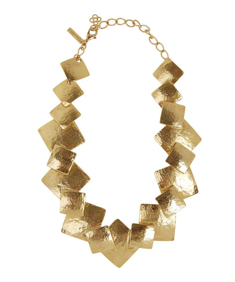Geo Collage Necklace