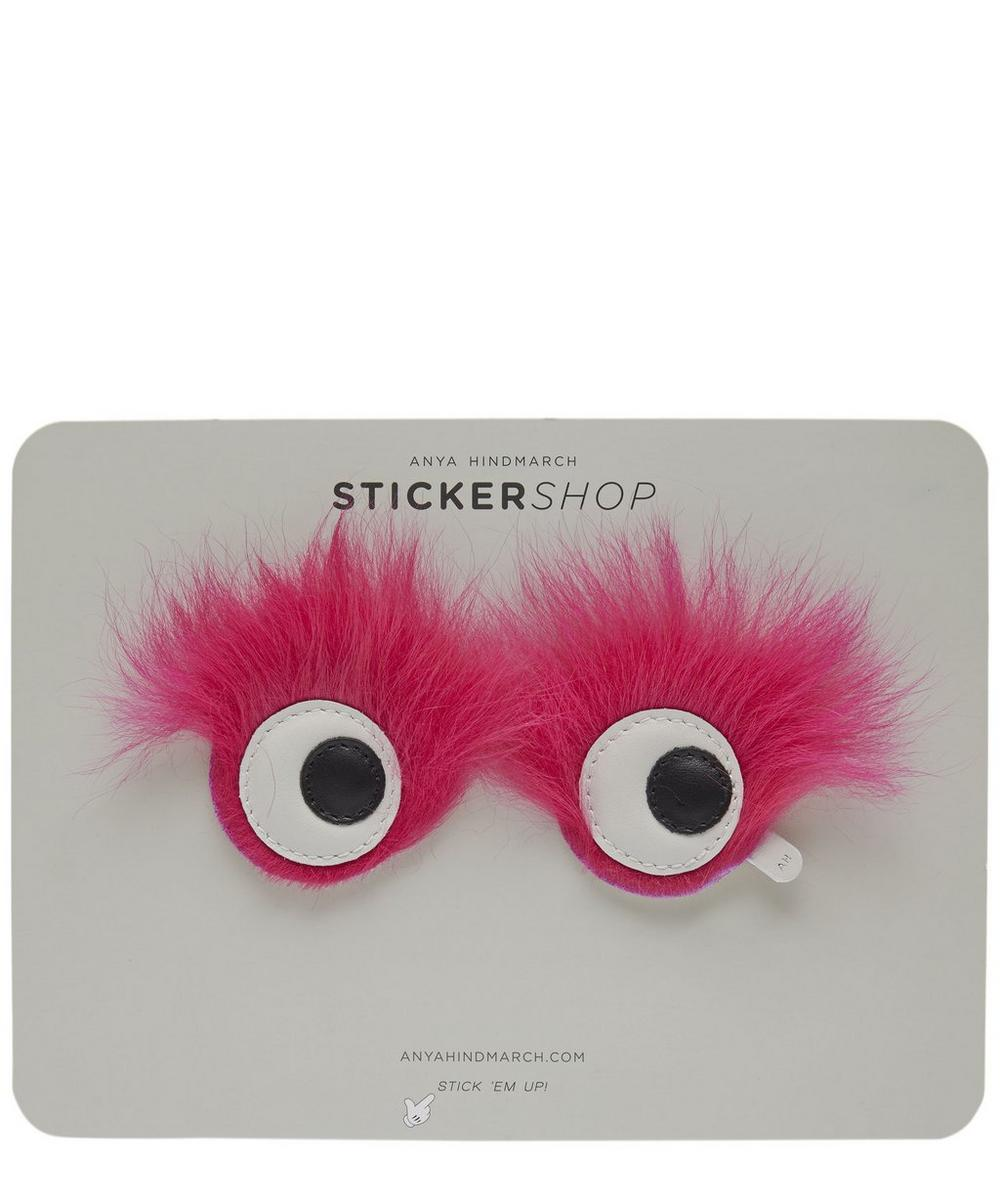 Furry Eyes Stickers