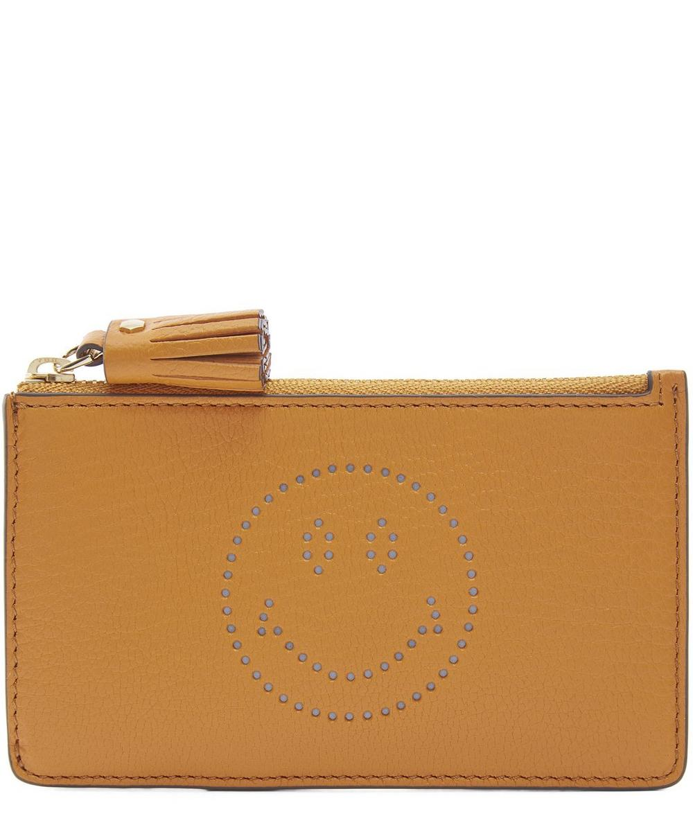 Smiley Card Key Case