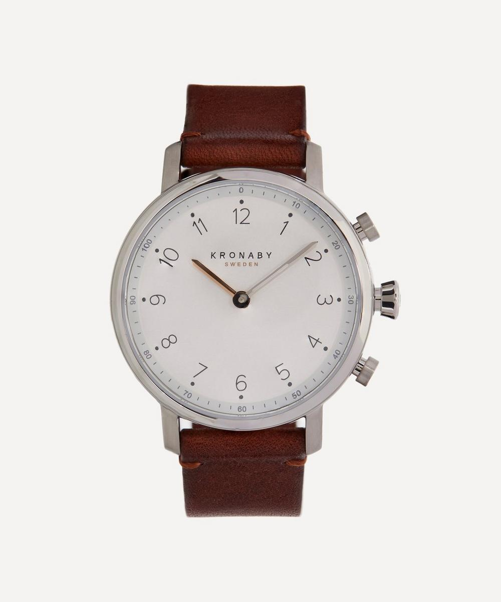 Nord Leather Strap Watch