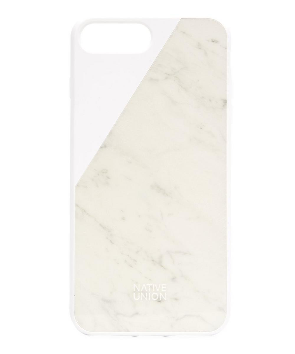 NATIVE UNION CLIC MARBLE PHONE CASE FOR IPHONE 8 PLUS
