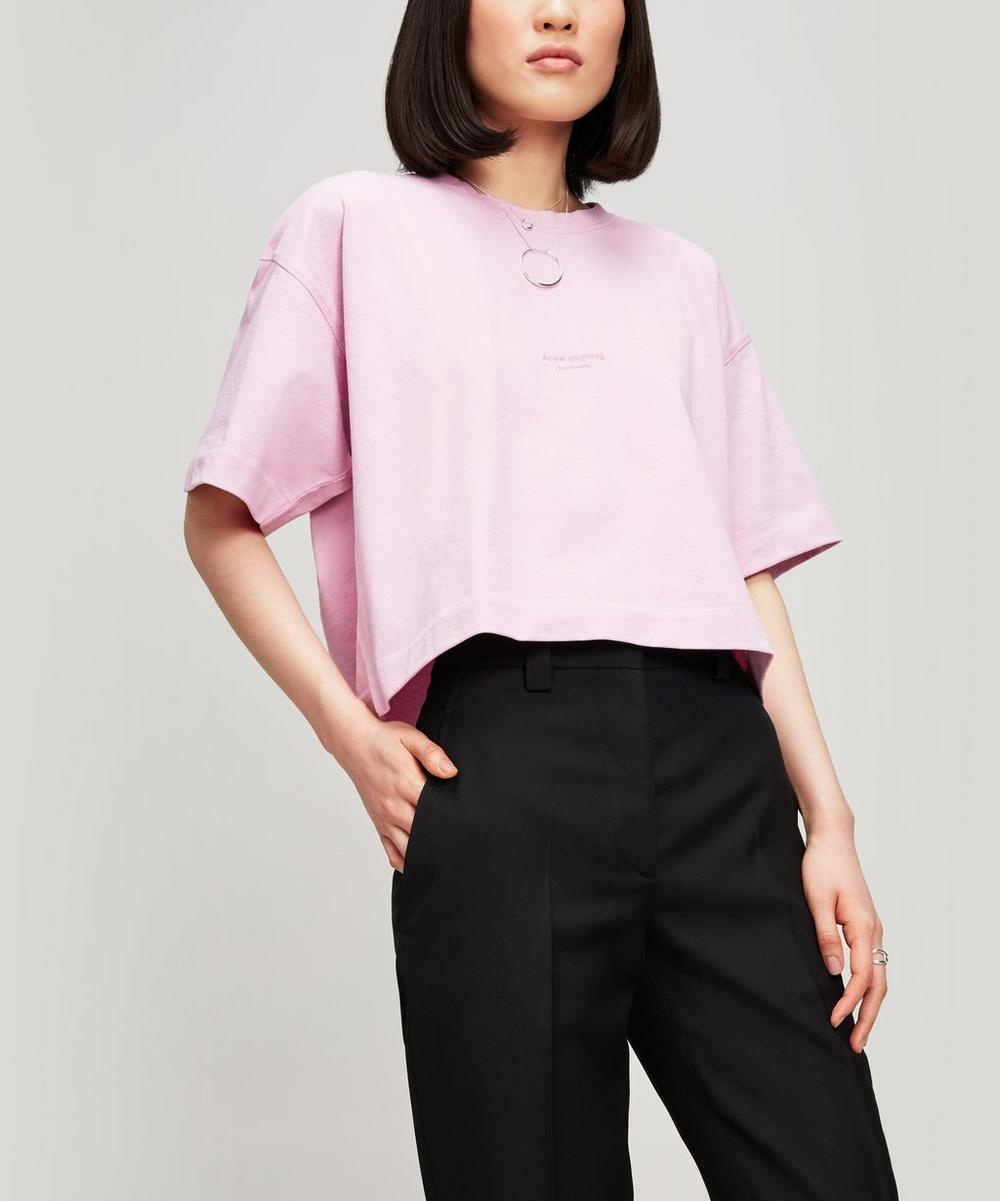Cylea Crop Cotton T-shirt
