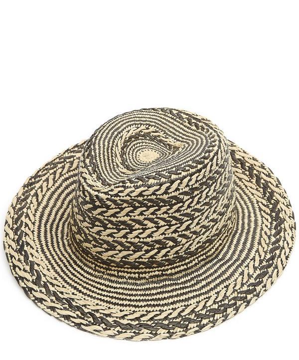 Wooster Zig Zag Panama Hat
