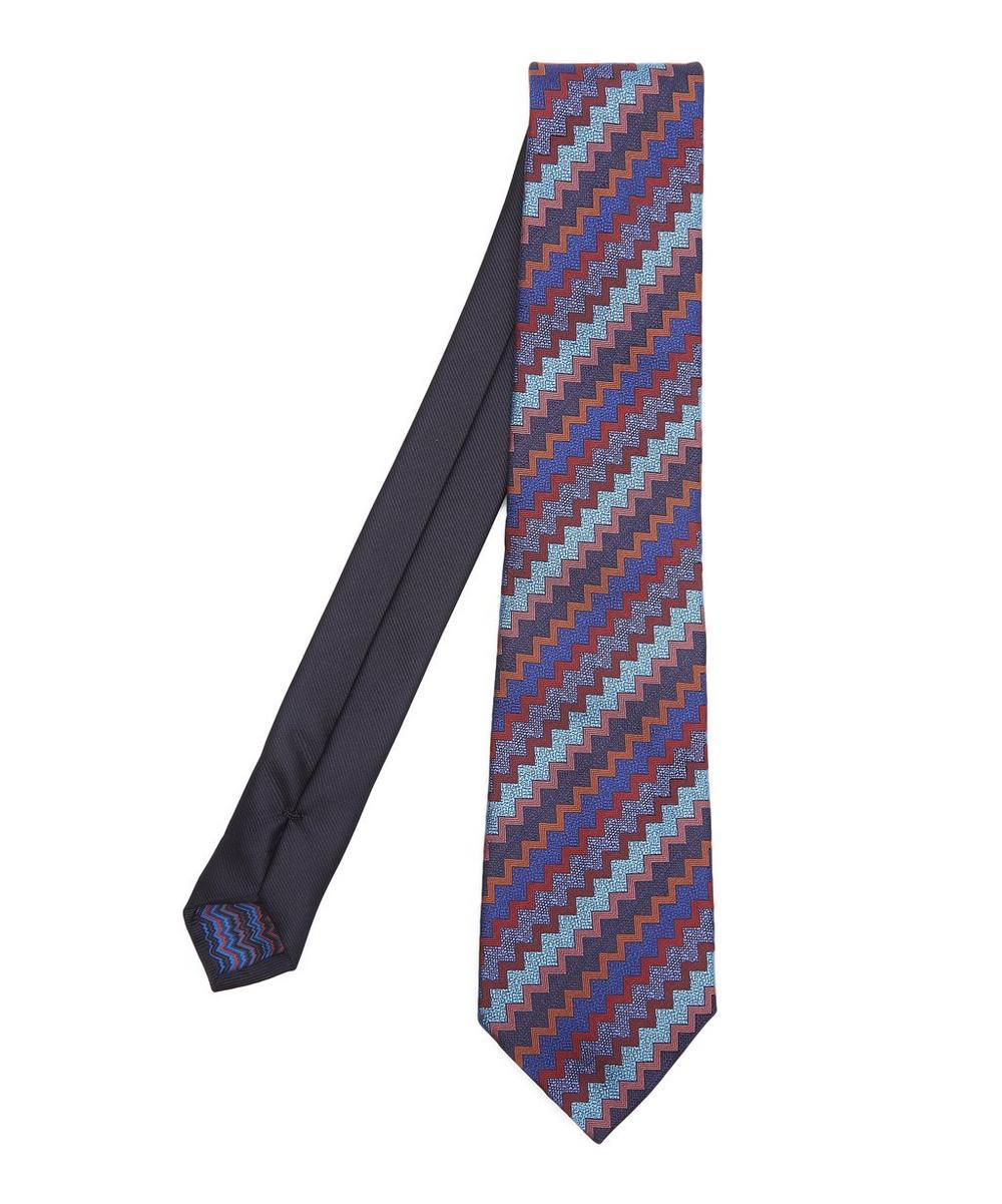 Multicolour Zig Zag Tie