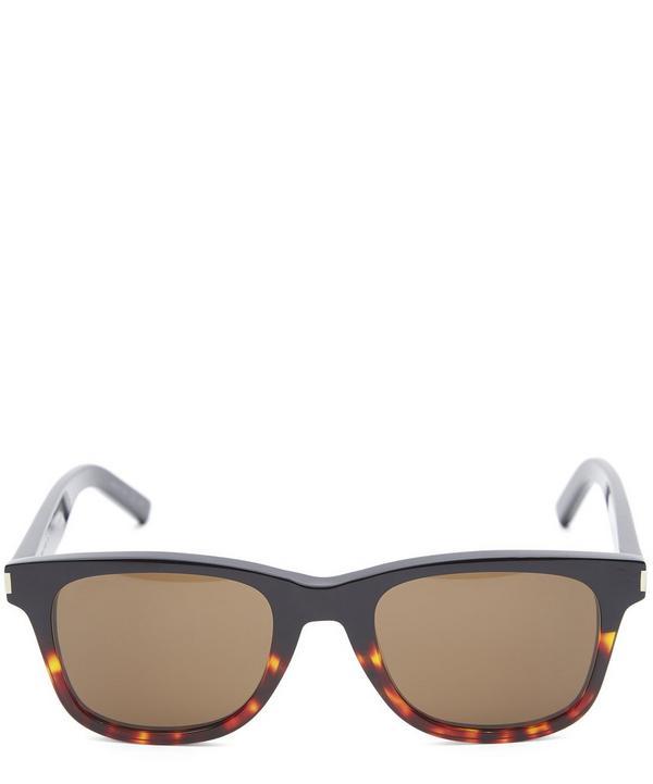 Contrast Square Acetate Sunglasses
