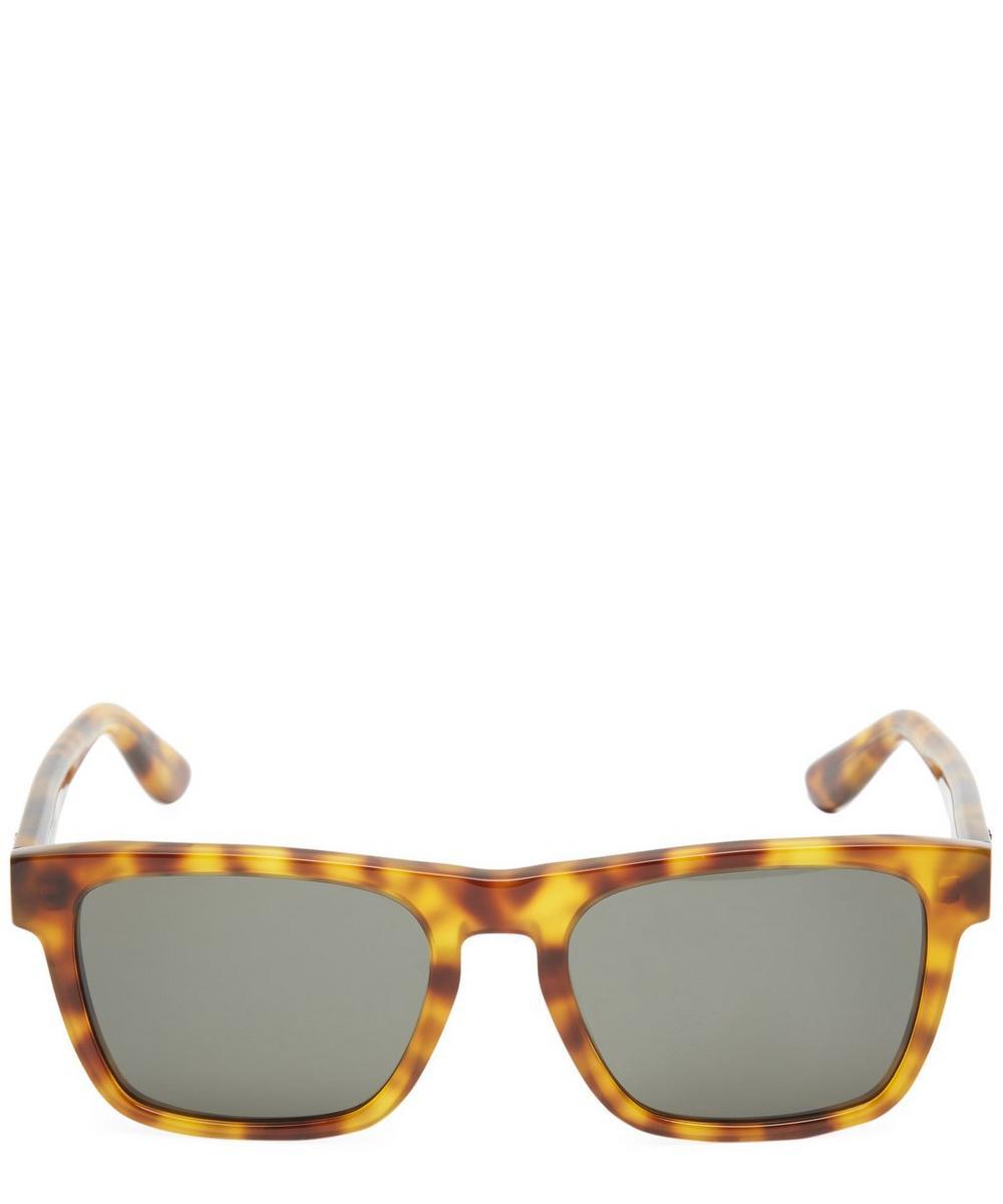 Light Havana Square Sunglasses