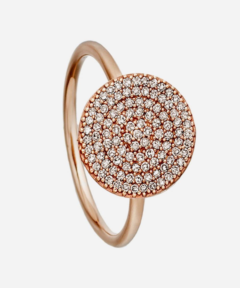 Rose Gold Icon Diamond Ring
