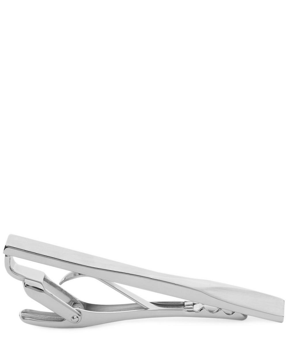 Rodium Plated Dent Tie Bar