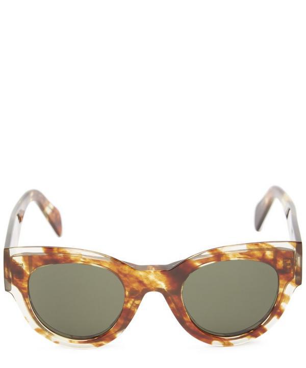 Bi-Layer Cat-Eye Sunglasses