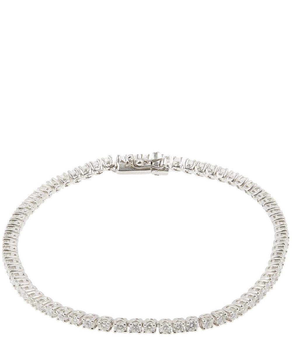 KOJIS WHITE GOLD DIAMOND TENNIS BRACELET