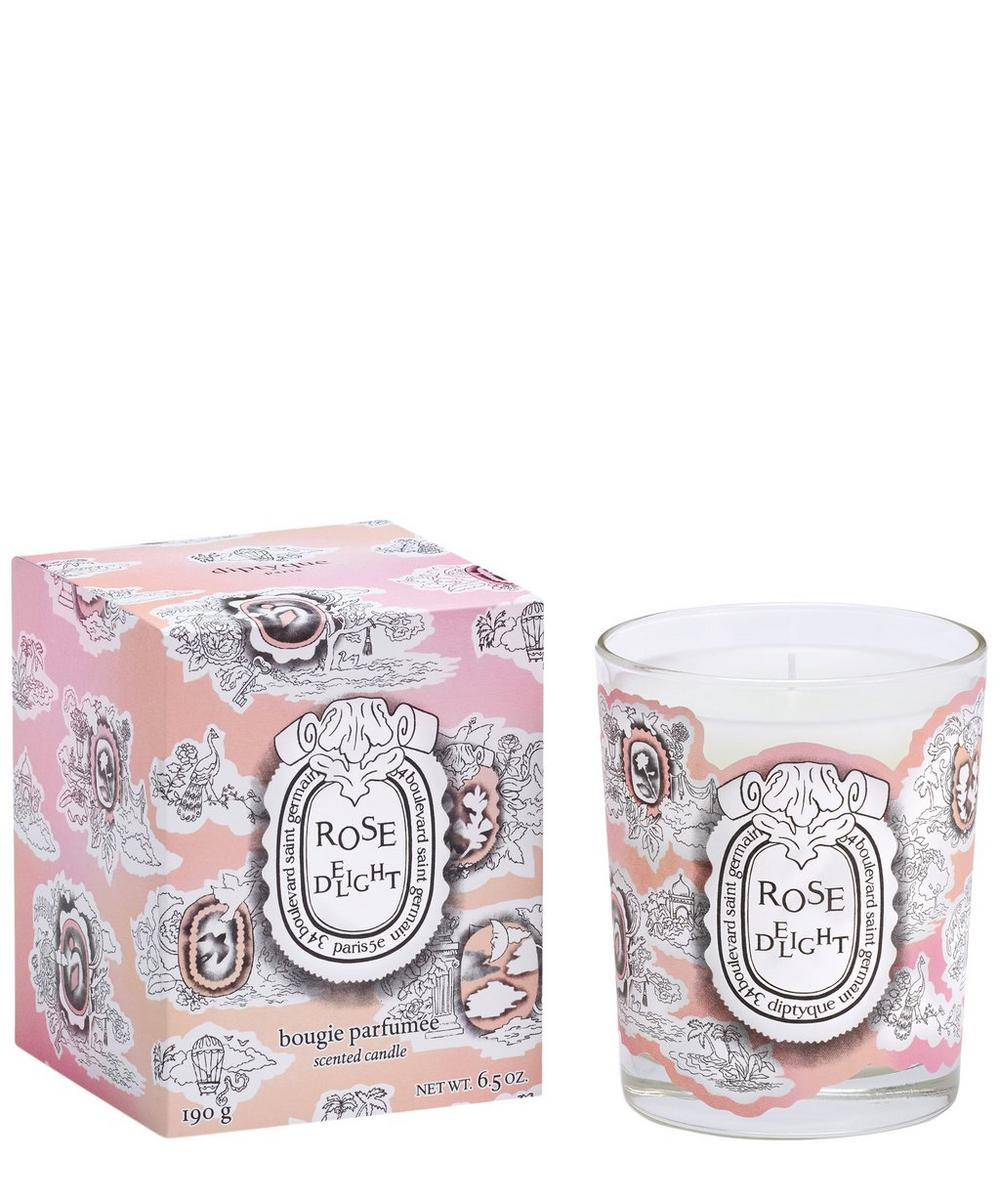 Rose Delight Scented Candle 190g