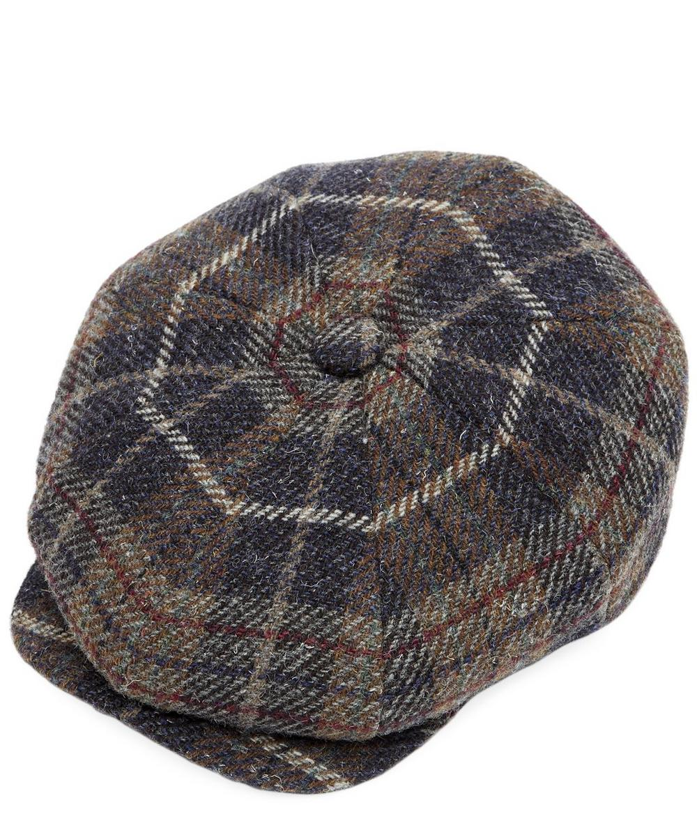 Payne Chunky Tweed Check Baker Boy Hat