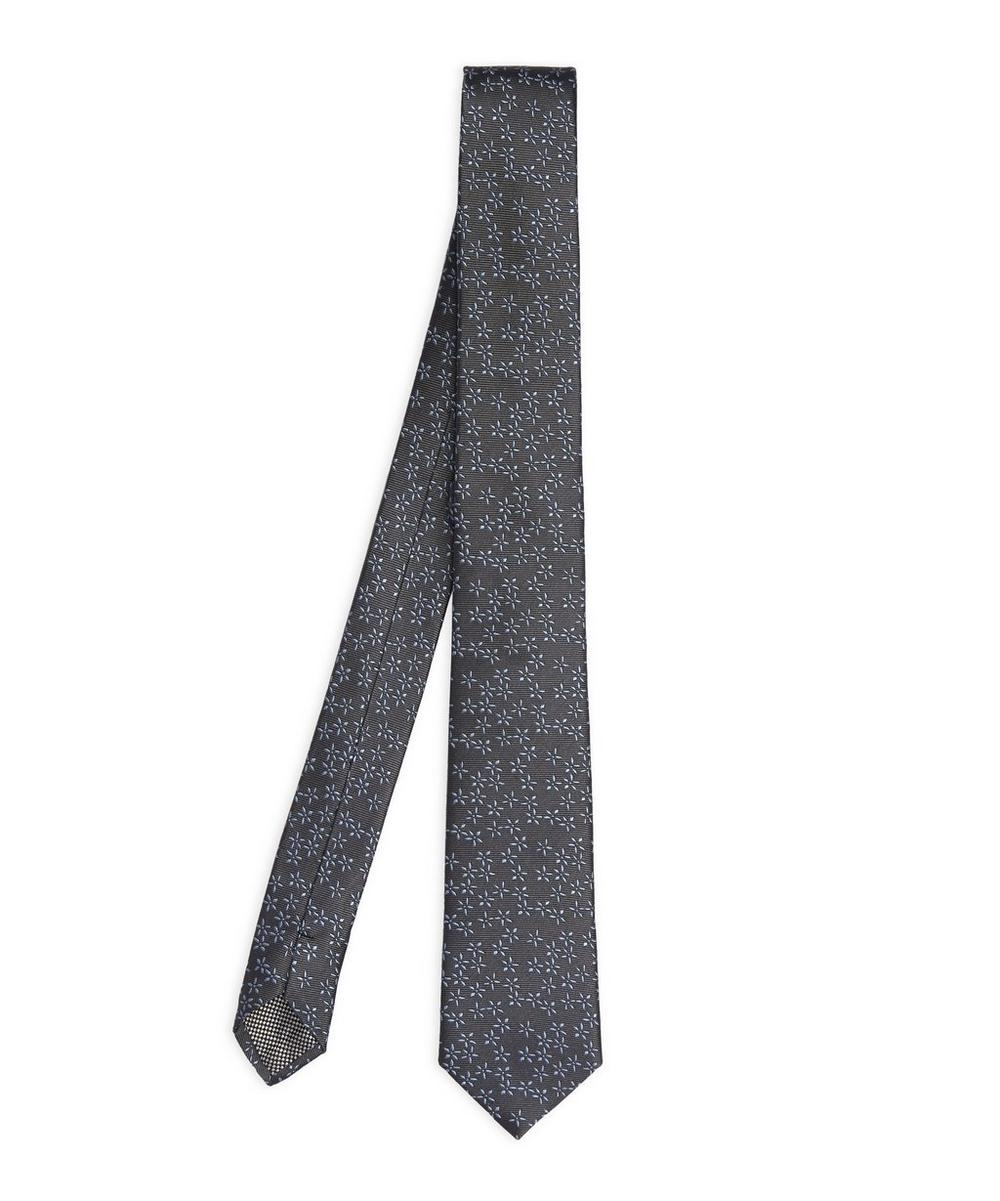 West End Ditsy Floral Print Tie
