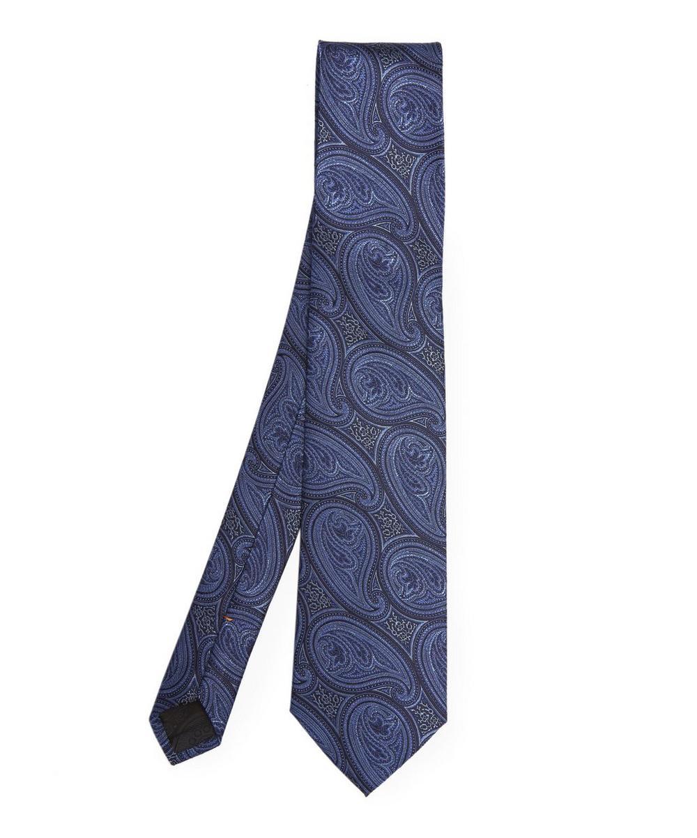 Paisley Park Print Tie
