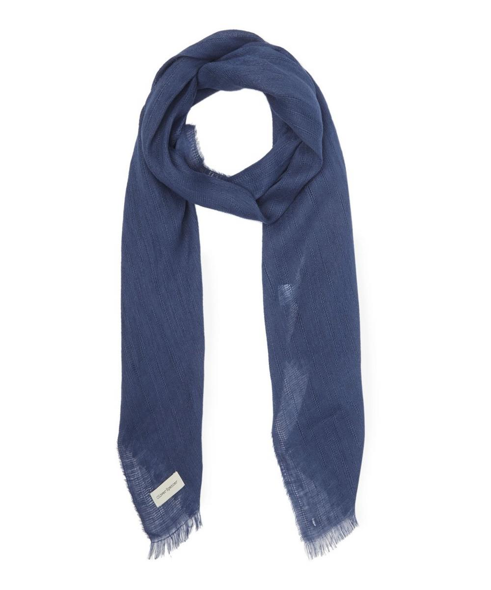 Caro Textured Weave Scarf