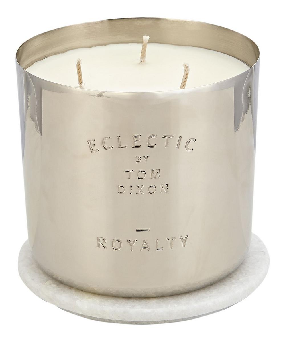 Large Eclectic Royalty Candle