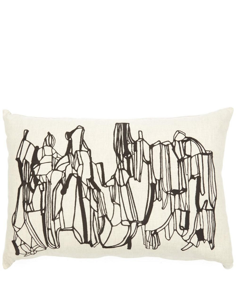 Rectangular Geo Cushion