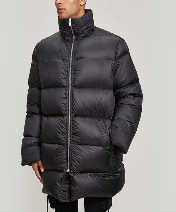 Flight Neck Duvet Puffer Jacket