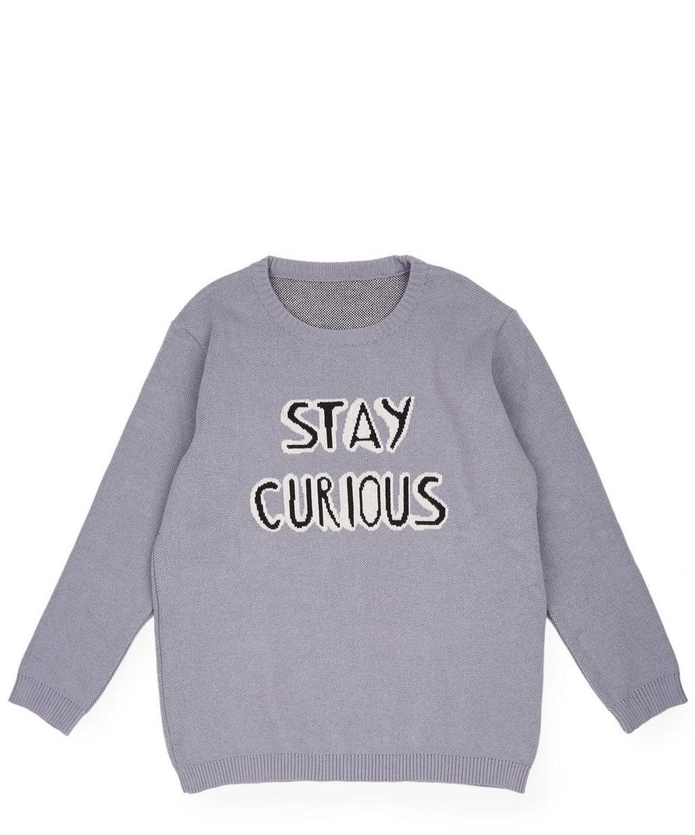 Stay Curious Knitted Jumper 2-8 Years