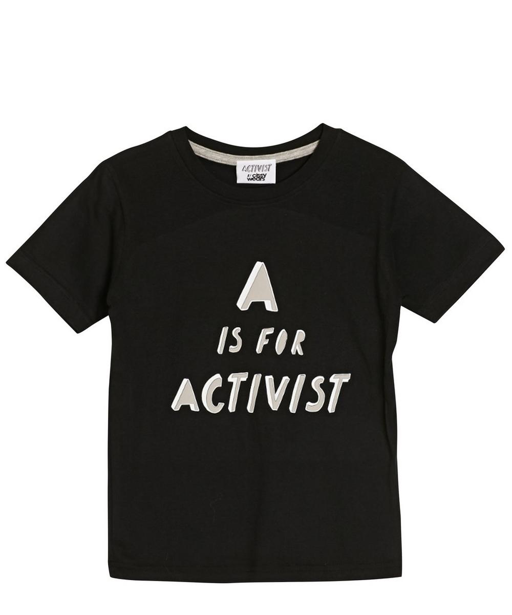 A Is For Activist T-Shirt 2-8 Years