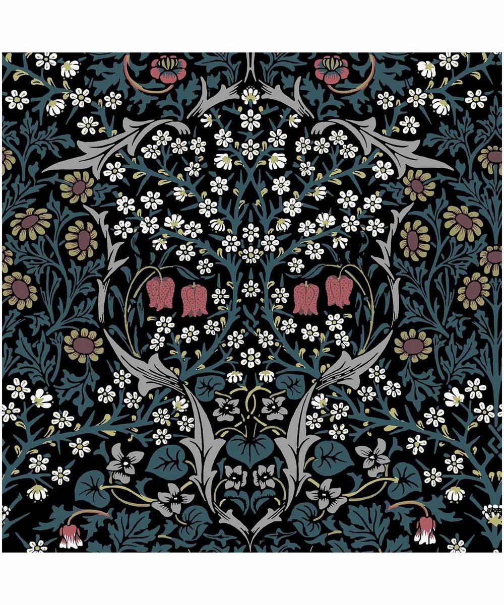 Blackthorn Velvet Fabric
