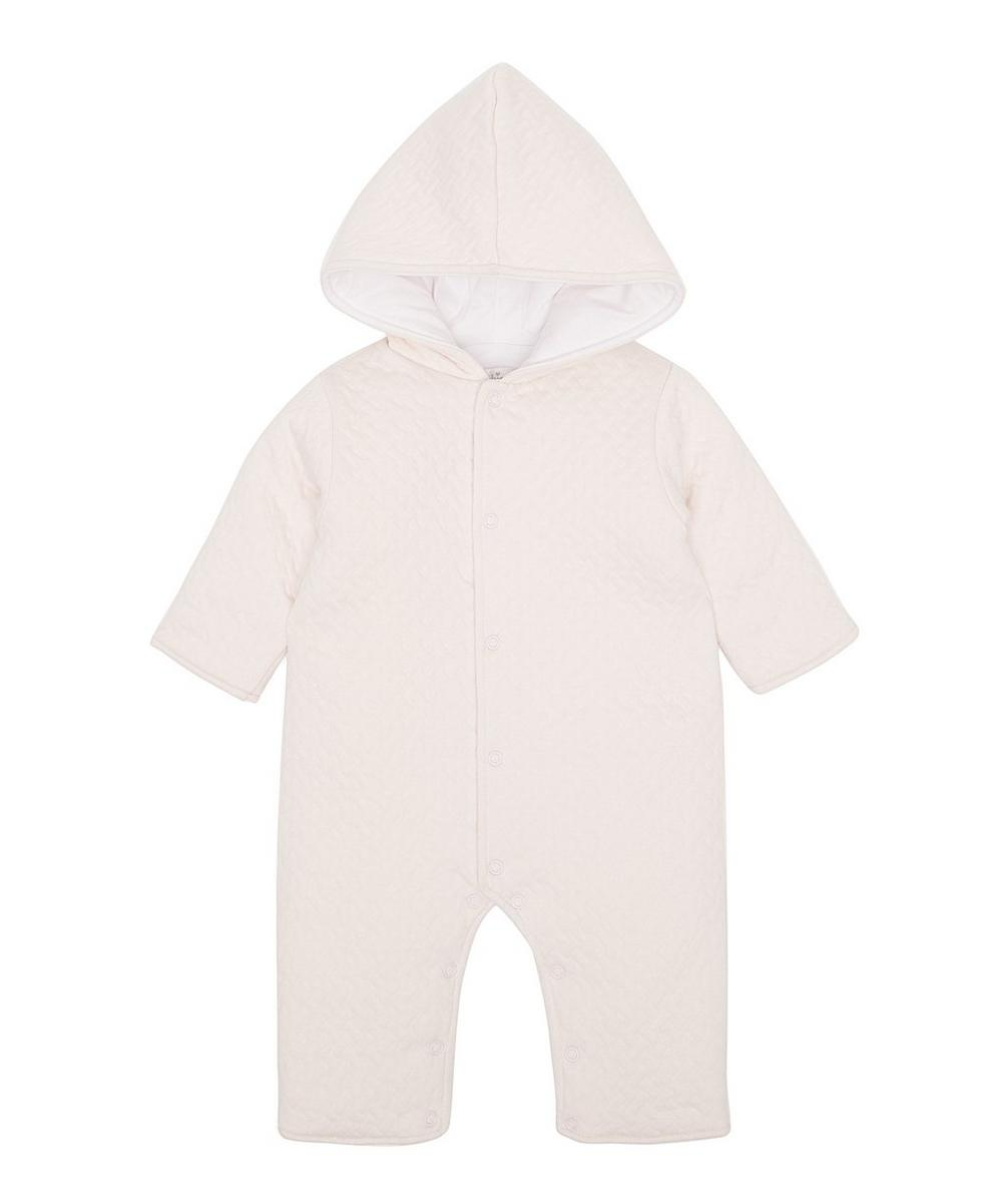 Clas Jacquard Padded Playsuit 0-12 Months