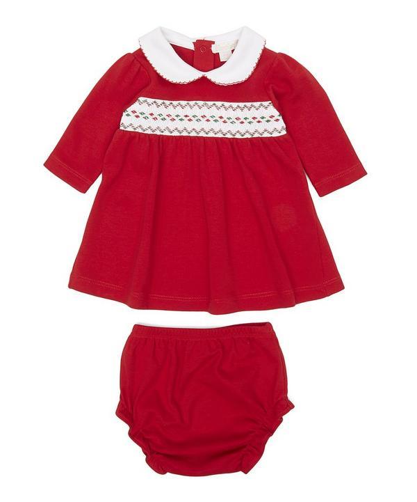 Holiday Dress Set 0-12 Months