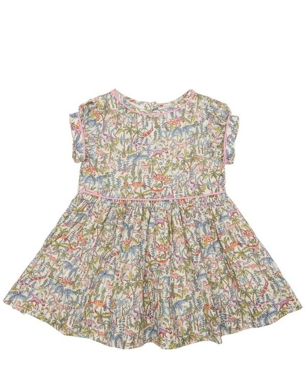 Rumble and Roar Short Sleeve Dress 3-24 Months