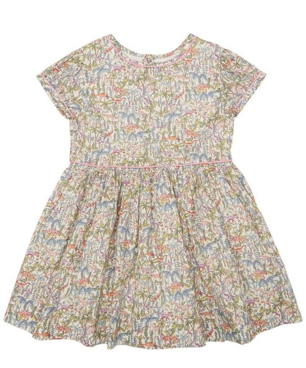 Rumble and Roar Short Sleeve Dress 2-8 Years