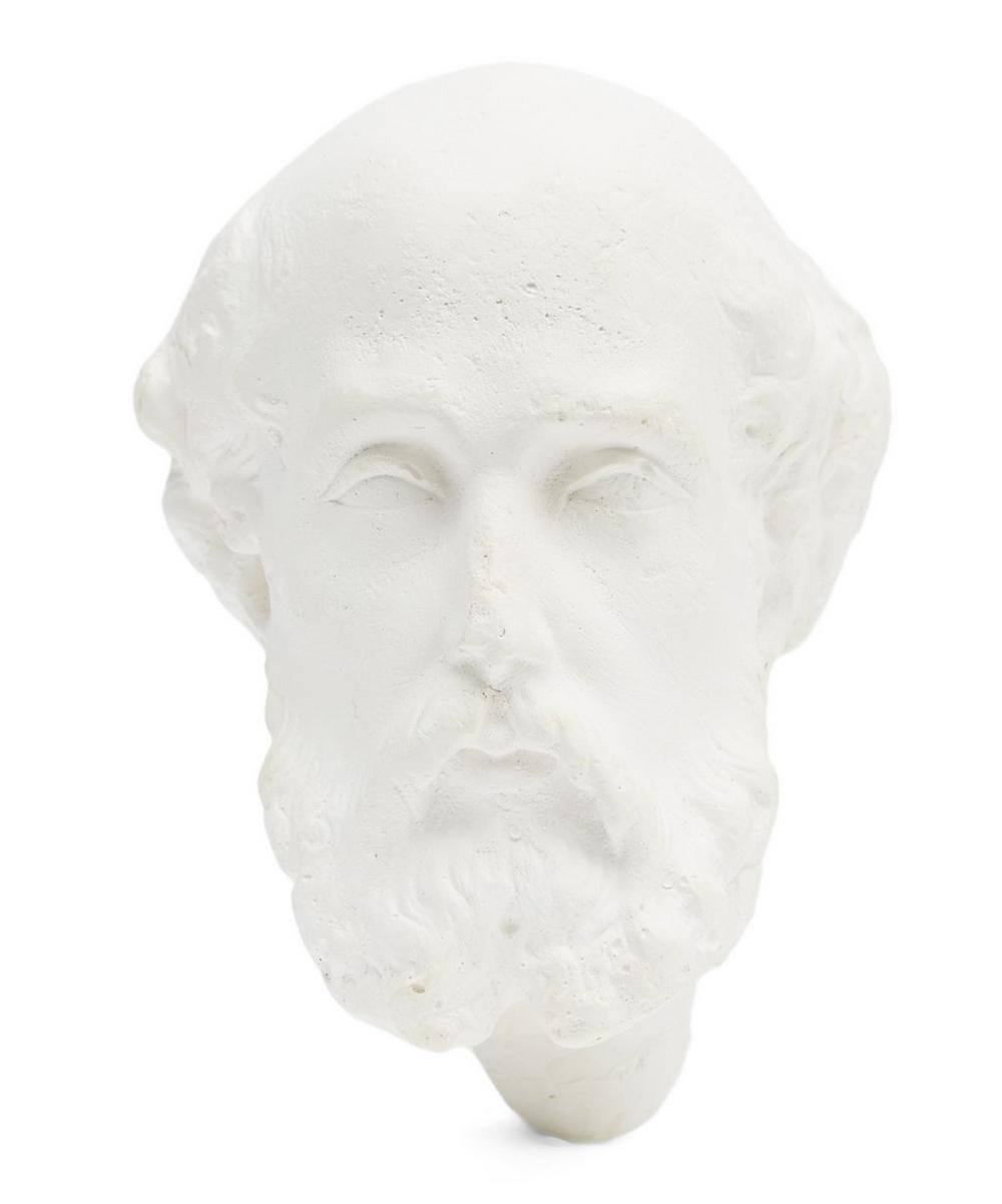 Plaster Calogero Monk Head
