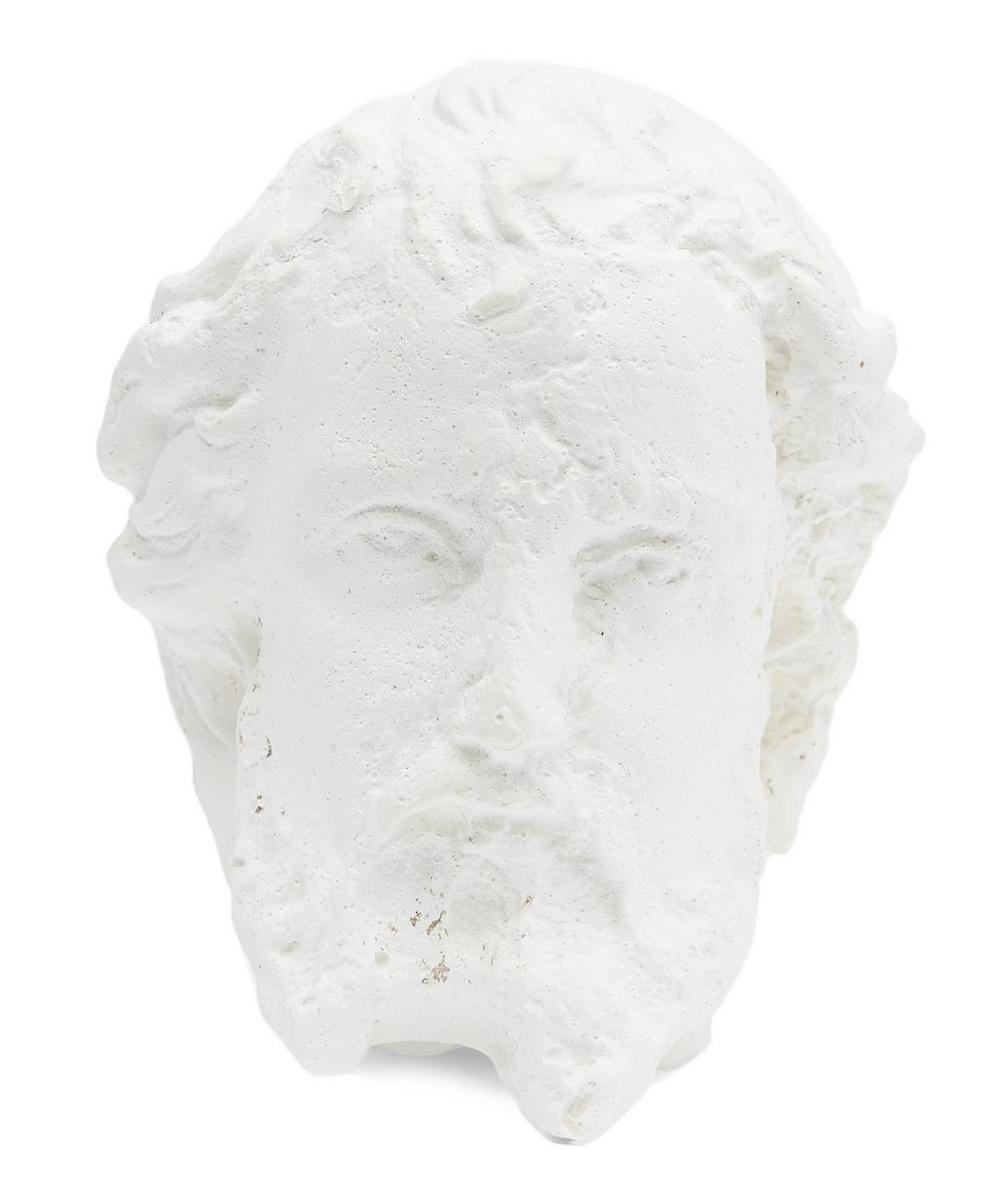 Plaster Dominic Monk Head