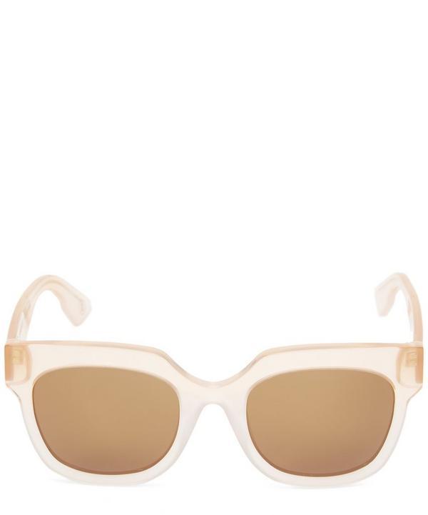 Gilot Chunky Square Acetate Sunglasses