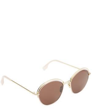 Tita Round Metal Sunglasses